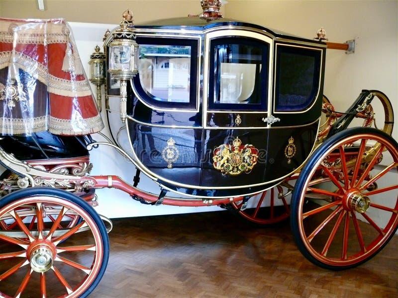 Real maúlla, el Buckingham Palace fotografía de archivo
