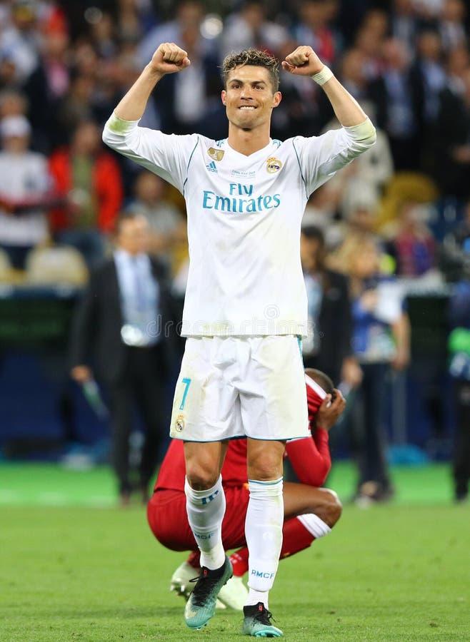Real Madrid 2018 del final de la liga de campeones de UEFA v Liverpool fotos de archivo