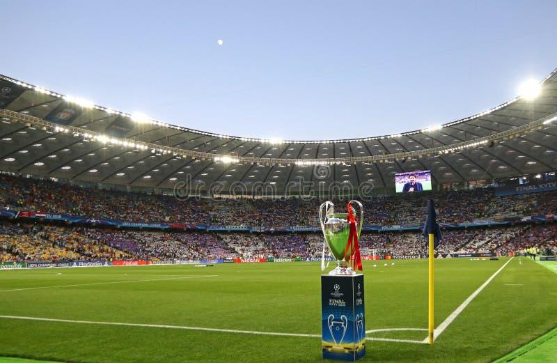 Real Madrid 2018 del final de la liga de campeones de UEFA v Liverpool, Kiev, fotografía de archivo