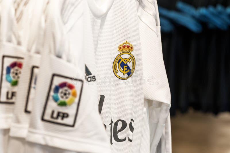 Real Madrid koszulka obraz stock