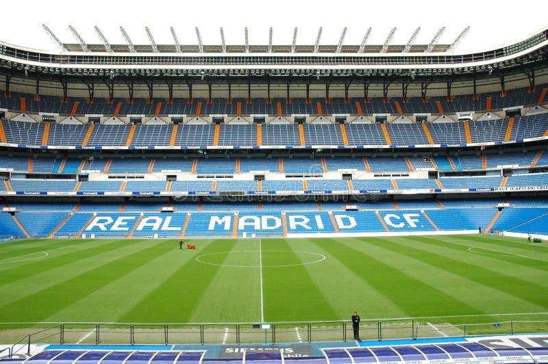 Real Madrid-Stadion lizenzfreie stockfotos