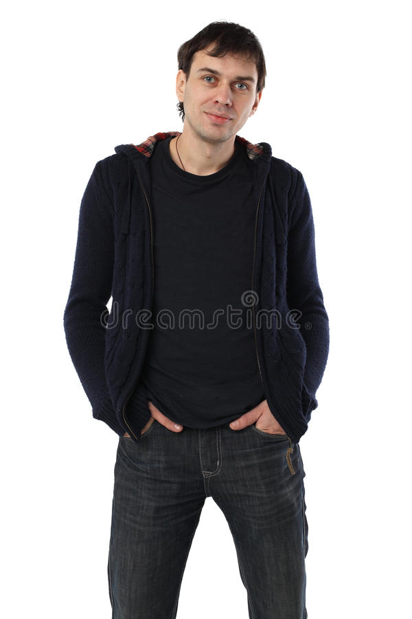 Real Man Student Stock Photography