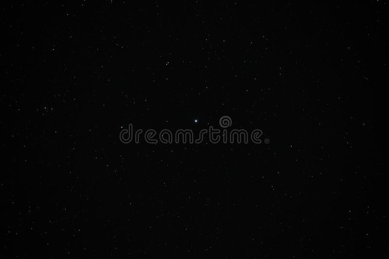 Real Night Sky with Stars royalty free stock images