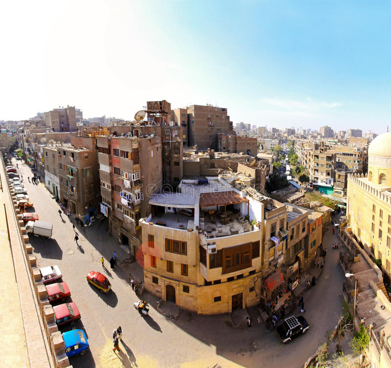 Download Real old Cairo editorial image. Image of africa, town - 18257060
