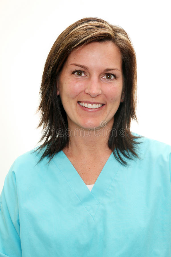 Real people female doctor royalty free stock photography