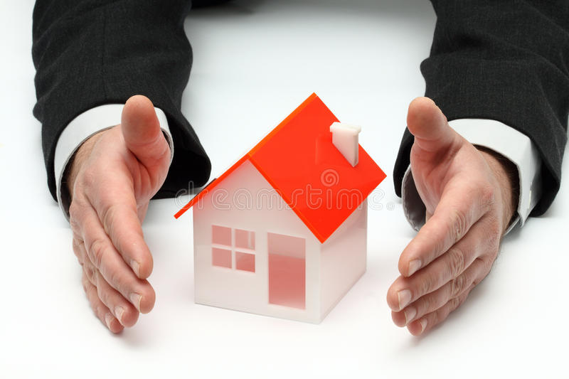 Real property or insurance concept royalty free stock photo