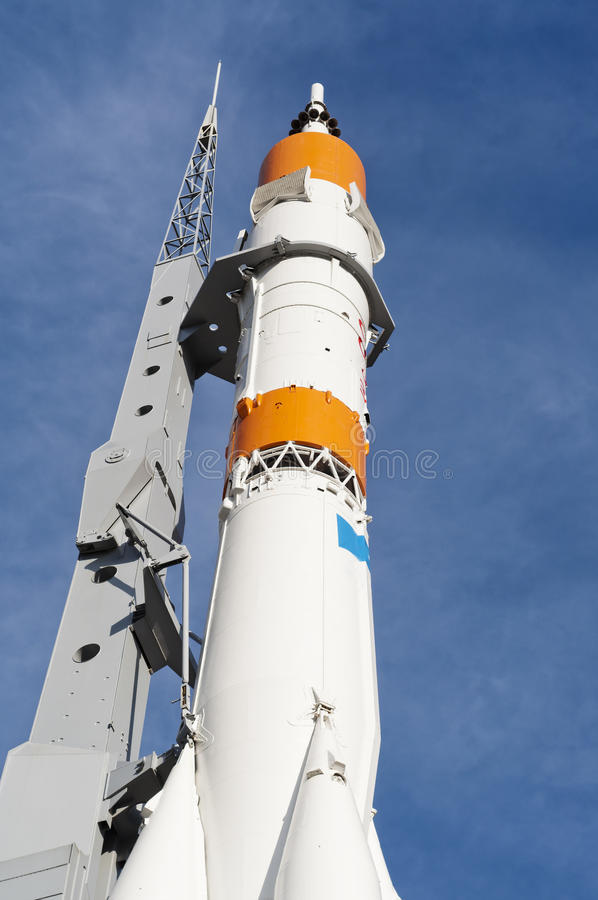 Free Real Rocket On A Launch Pad Stock Photography - 42622742