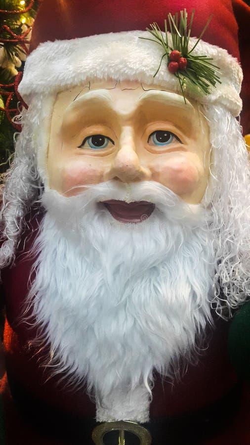 Real Santa Claus statue stock photos
