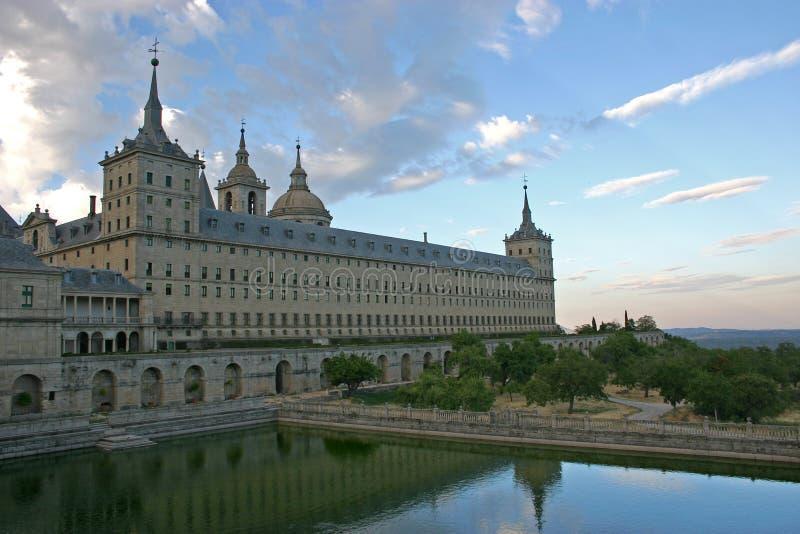 Real Sitio de San Lorenzo del royalty free stock photography