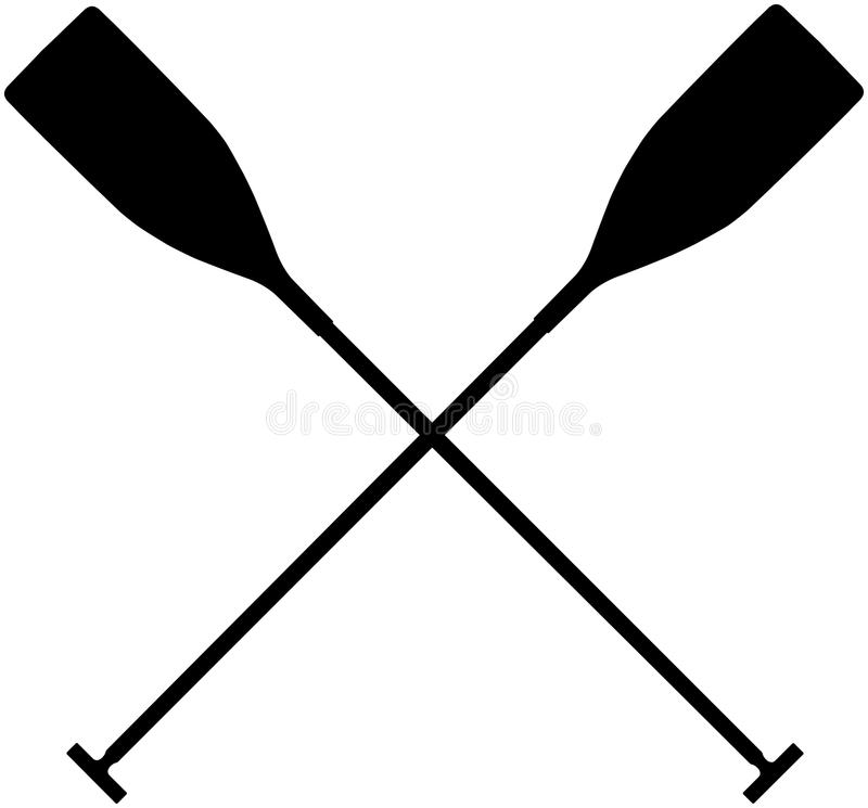 Free Real Sports Paddles For Canoeing Stock Image - 83877871