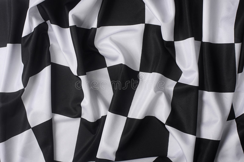 Download Real waving checkered flag stock image. Image of pattern - 4137299