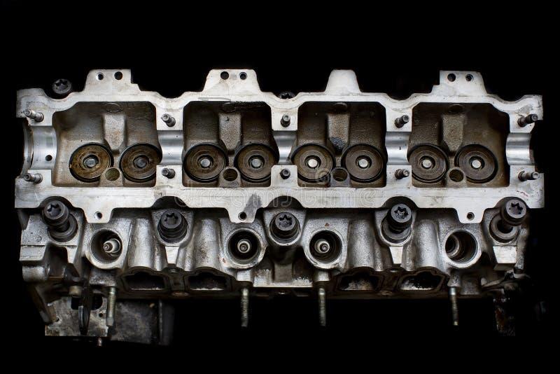 Reala używać samochodu silnika głowy enginer fotografia royalty free