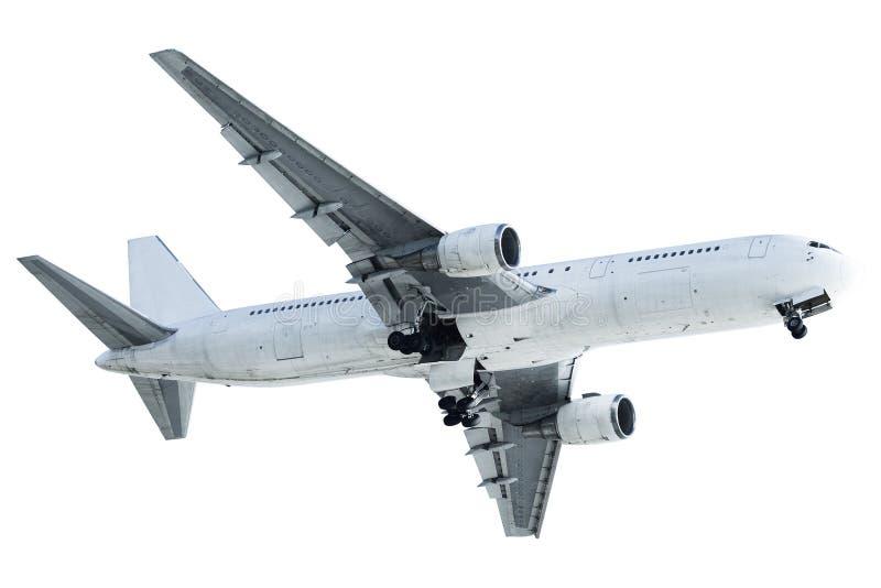 Download Reale Düsenflugzeug stockfoto. Bild von weiß, luftfahrt - 27729788