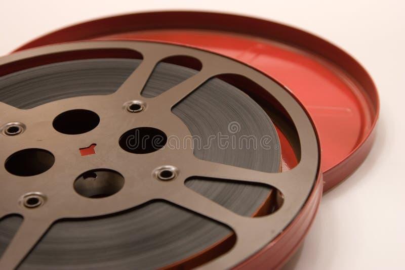 Reale Film-Bandspule lizenzfreies stockbild
