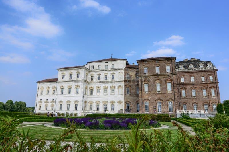Reale Venaria, зона Пьемонта, Италия Июнь 2017 Ландшафт садов королевского дворца стоковая фотография