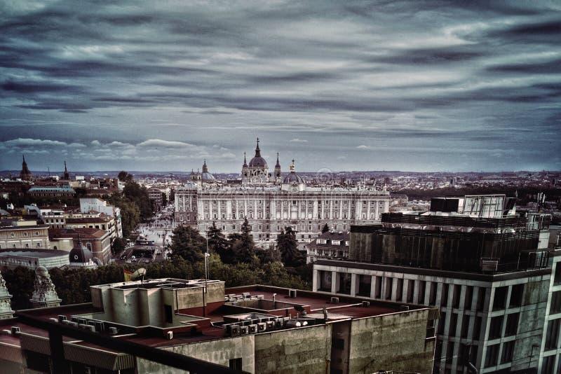 Realer Palast stockbild