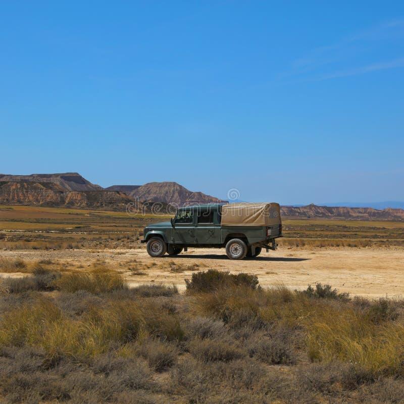 Reales bardenas des пустыни стоковая фотография