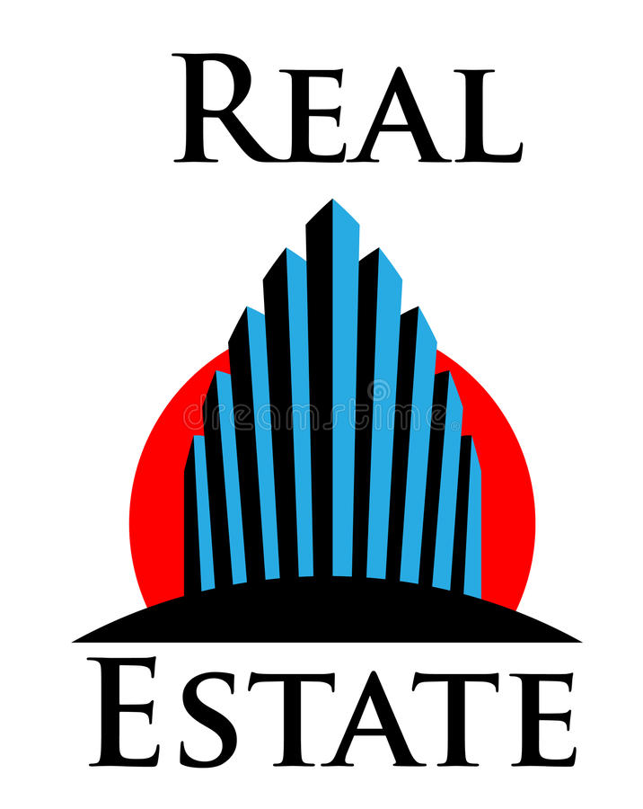 Download RealEstate stock illustration. Image of downtown, estate - 12867066