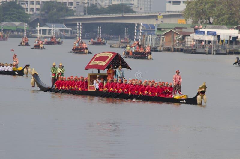 Reali tailandesi barge dentro Bangkok