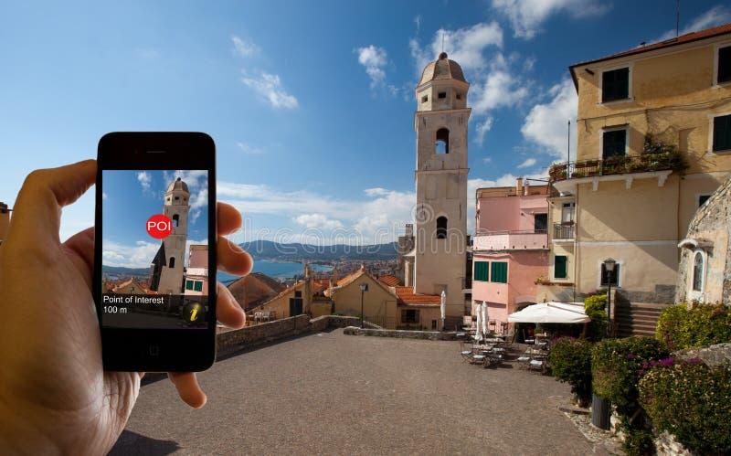 Realidad aumentada fotografía de archivo libre de regalías
