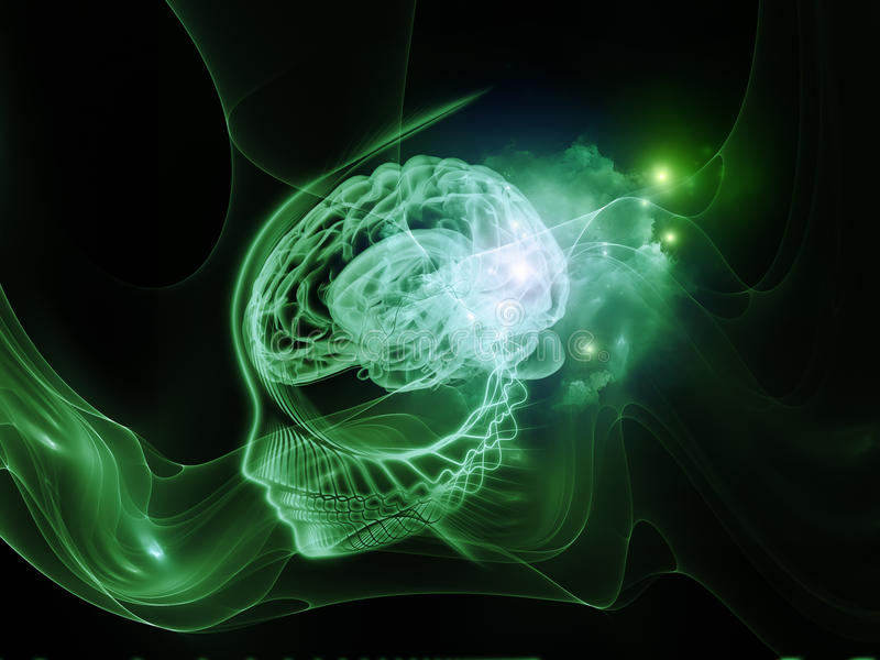 Realidade da mente ilustração do vetor