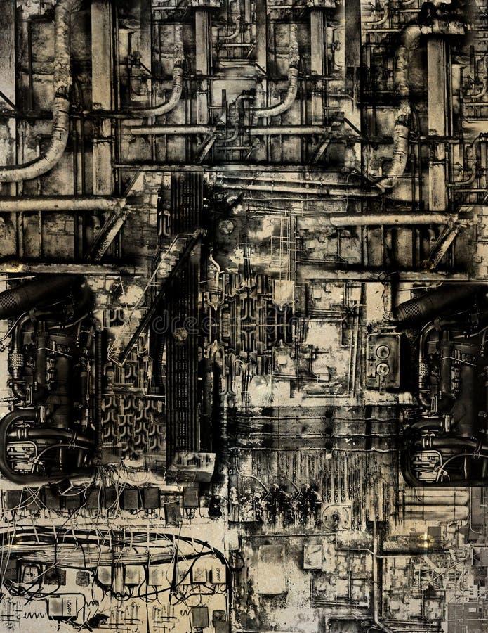 Realismo fantástico III ilustração do vetor