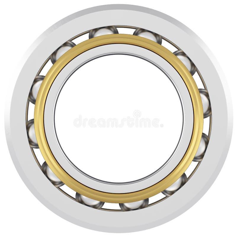 Realista concerniente un fondo blanco con los rasguños ligeros ilustración del vector
