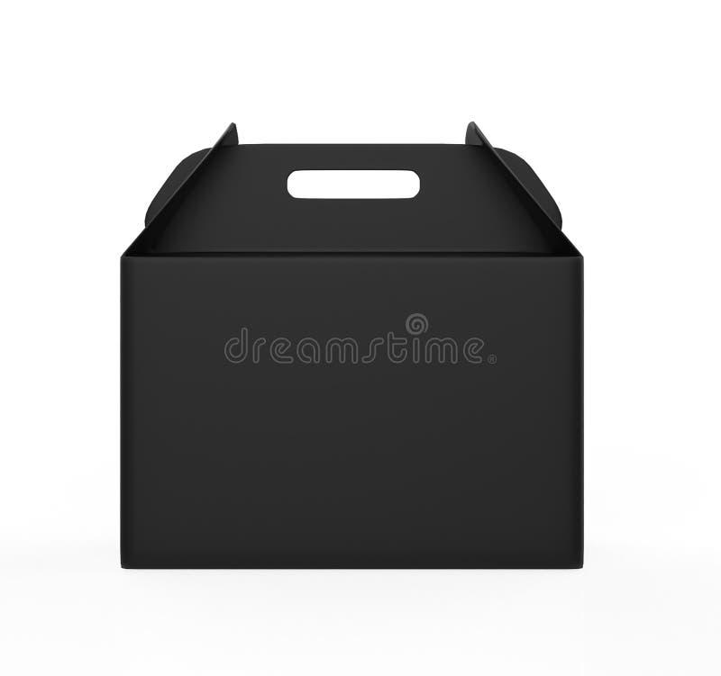 Realista llévese la mofa de la caja de la comida para arriba ilustración del vector