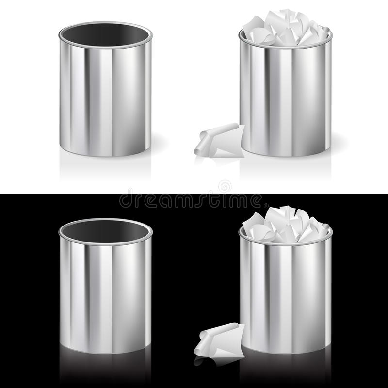 Download Realistic Bin Royalty Free Stock Images - Image: 19938949