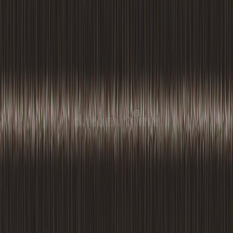 Realistic Black Brown Straight Hair Texture Stock Vector ...