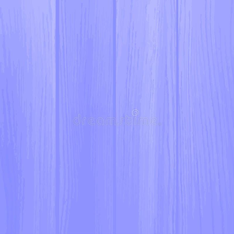 Realistic blue planks. Wood background. Vector illustration. royalty free illustration