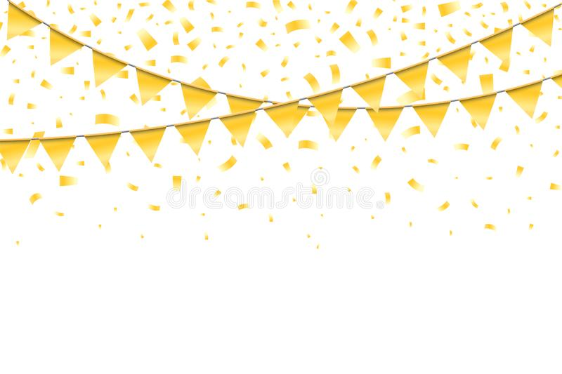 Realistic bright festive elegant template vector illustration