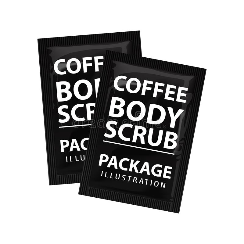 Vector Luxury Package Template Of Coffee Stock Vector