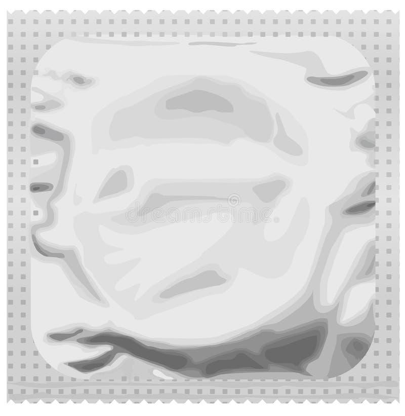 Realistic Condom Royalty Free Stock Image
