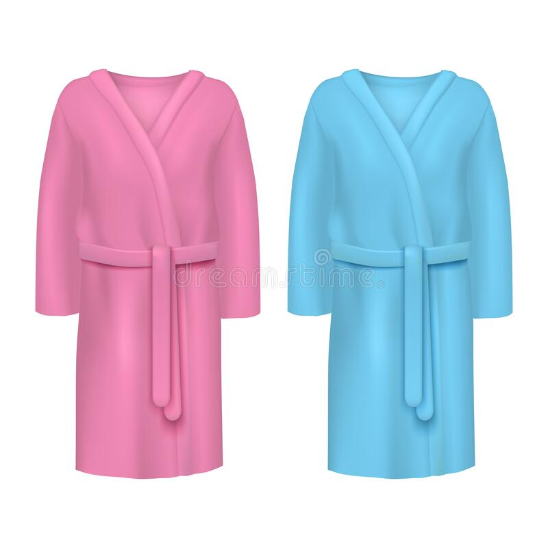 Woman With Bathrobe For Spa Template