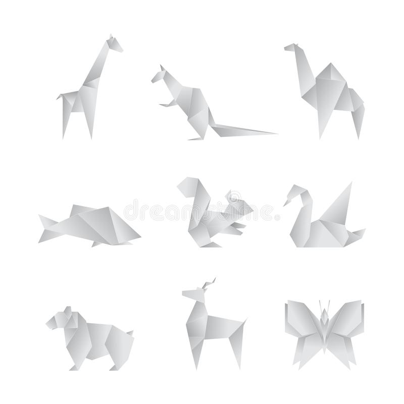 Origami Animals Stock Illustrations – 1,403 Origami Animals Stock