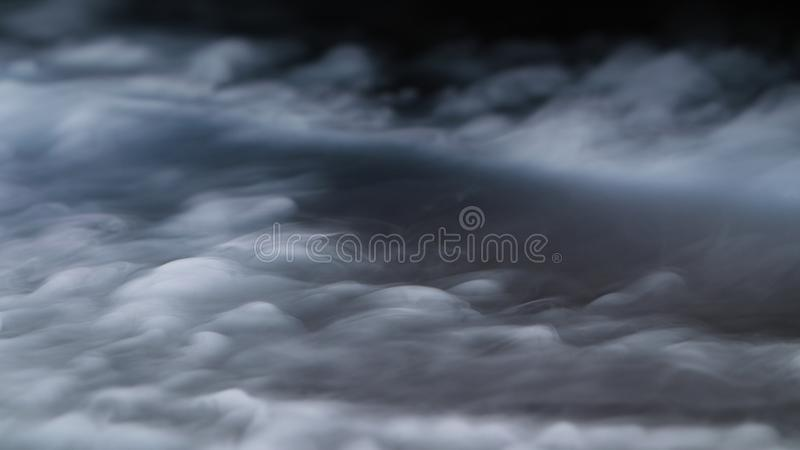 Realistic Dry Ice Smoke Clouds Fog Overlay royalty free stock images