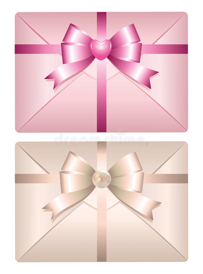 Download Realistic envelope stock vector. Image of bright, card - 21159443