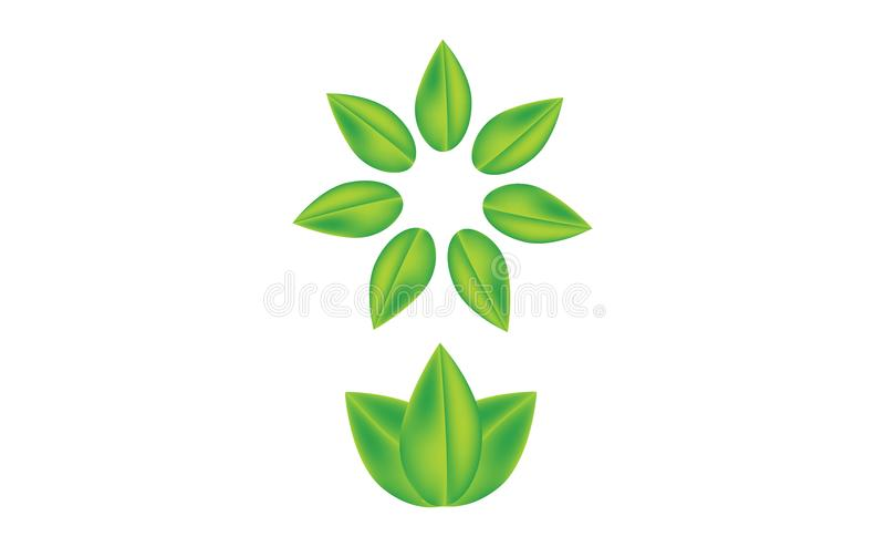 Leaves realistic vector graphic vector illustration