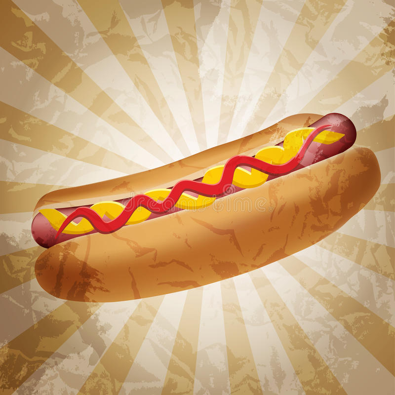 Download Realistic Hot Dog Vector Illustration Stock Vector - Image: 29292925