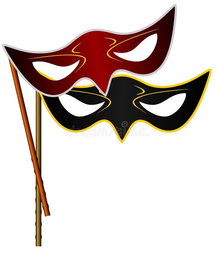 Download Realistic Illustration Of Carnivals Mask Stock Vector - Image: 12736966