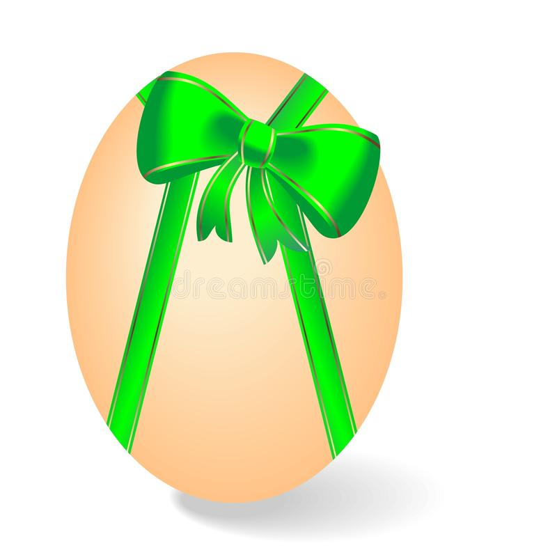 Realistic Illustration By Easter Egg Stock Photography