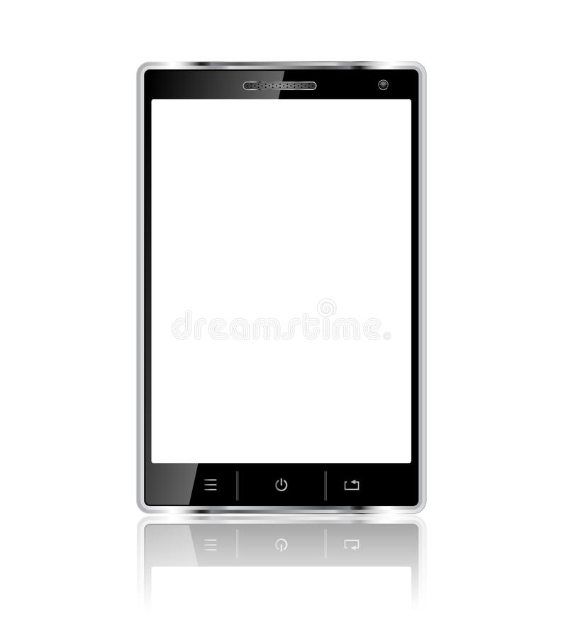 Realistic Mobile Phone With Blank Screen Stock Photos