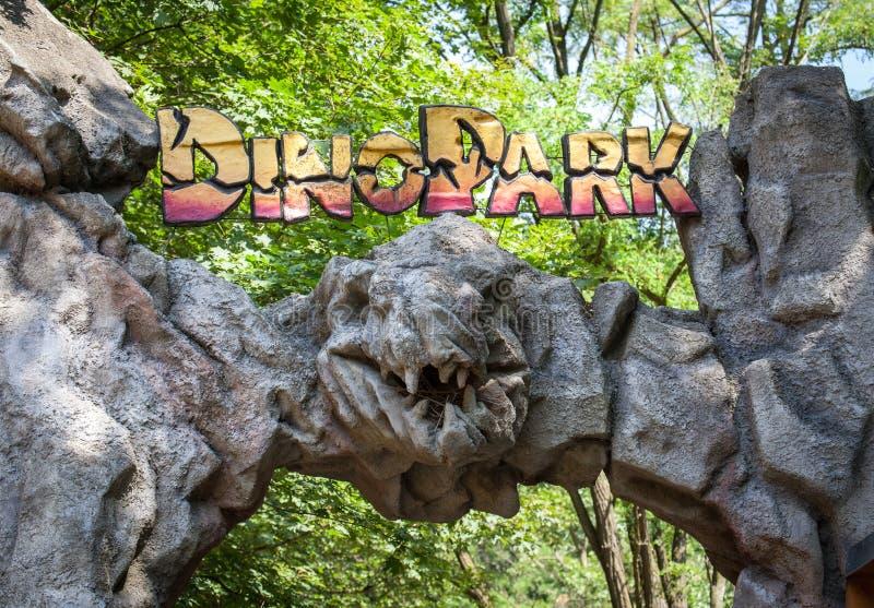 Realistic model of dinosaur royalty free stock photo