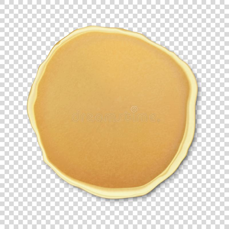 Free Realistic Pancake Closeuo Isolated On Transparency Grid Background Royalty Free Stock Photo - 103367685