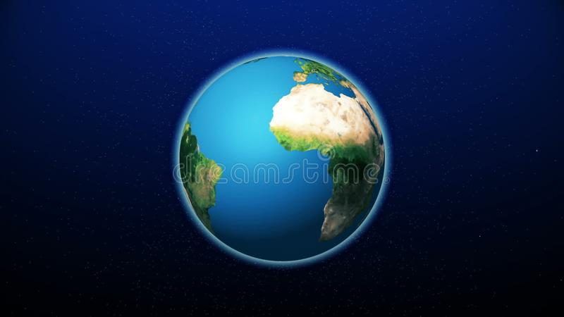 Realistic Planet Earth from space. Abstract Background stock photos