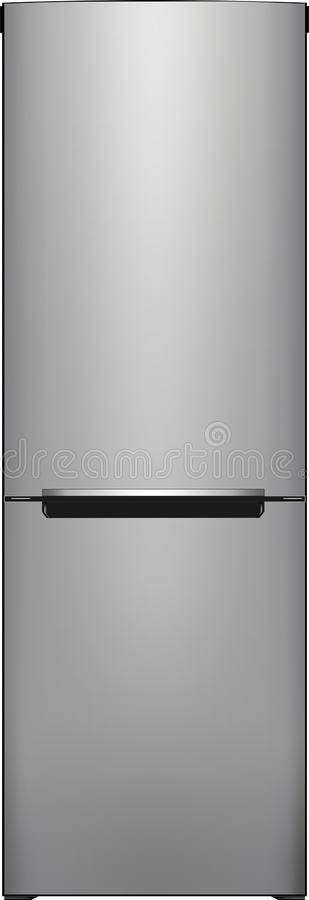 Realistic refrigerator royalty free illustration