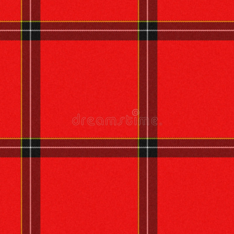 Download Realistic Seamless Tartan With Visible Threads Stock Illustration - Illustration: 12493103