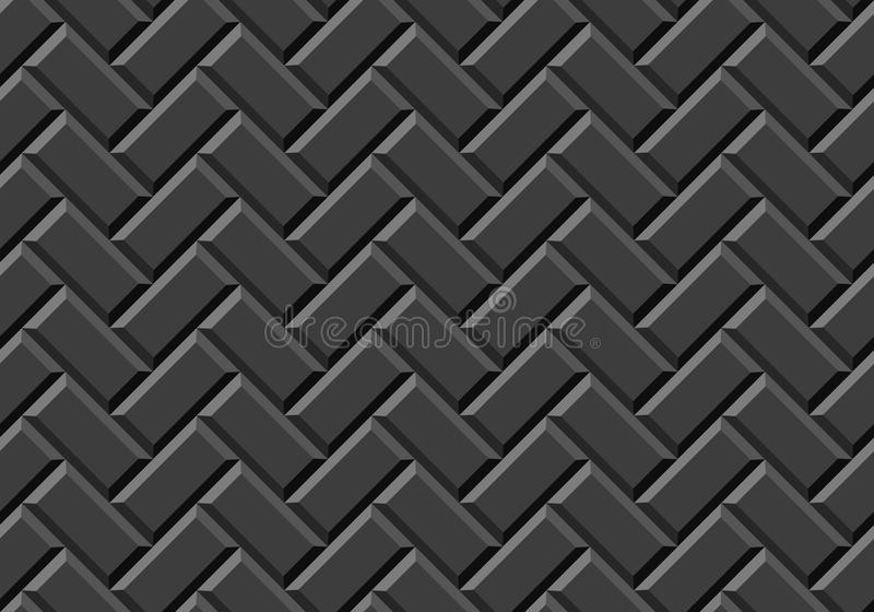 Realistic seamless tile texture. Illustration stock illustration