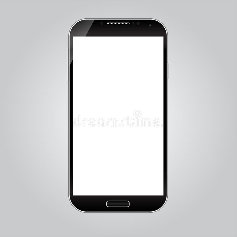 Realistic Smart Phone Vector vector illustration